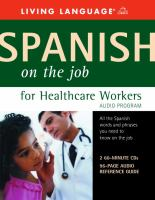 Spanish on the Job for Healthcare Workers