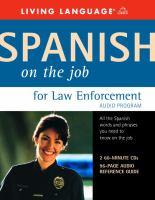 Spanish on the Job