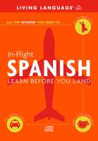 In-flight Spanish
