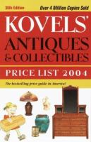 Kovel's Antiques & Collectibles Price List