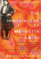 The Immortal Life of Henrietta Lacks cover image