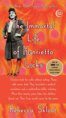Skloot Book club in a bag. The immortal life of Henrietta Lacks