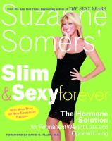 Suzanne Somers' Slim and Sexy Forever