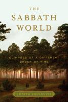 The Sabbath World