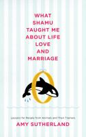 What Shamu Taught Me About Life, Love, and Marriage