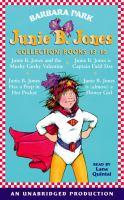 Junie B. Jones Collection Book 13-16 : Junie B. Jones And the Mushy Gushy Valentine / Junie B. Jones Is Captain Field Day / Junie B. Jones Has A Peep in Her Pocket / Junie B. Jones Is Almost A Flower Girl, Library Edition (Audiobook on CD)