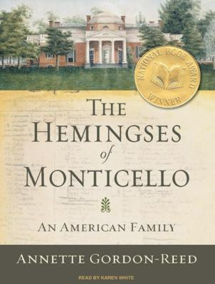 Cover image for The Hemingses of Monticello