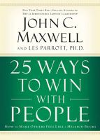 25 Ways to Win With People