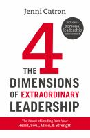 The 4 Dimensions of Extraordinary Leadership