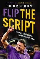Flip the script : lessons learned on the road to a championship