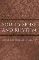 Sound, Sense, and Rhythm