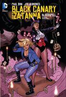 Black Canary and Zatanna