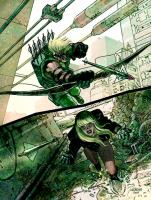 Green Arrow and Black Canary