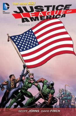 Cover image for Justice League of America, Vol. 01