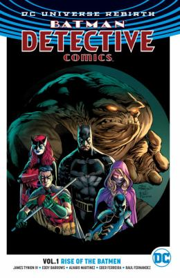 Cover image for Batman Detective Comics