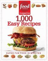 1,000 Easy Recipes