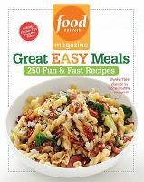 Food Network Magazine Great Easy Meals