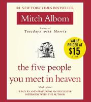 The Five People You Meet In Heaven(Unabridged CDs)