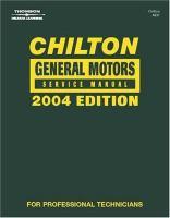 Chilton General Motors Service Manual [2000-2004]