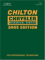 Chilton Chrysler Mechanical Service