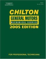 Chilton General Motors Mechanical Service