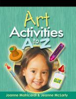 Art Activities A to Z