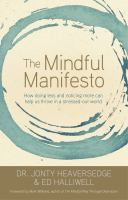 The Mindful Manifesto