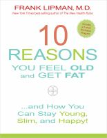 10 Reasons You Feel Old and Get Fat