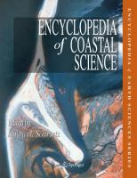 Encyclopedia of Coastal Science (Encyclopedia of Earth Sciences Series)