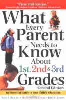 What Every Parent Needs to Know About 1st, 2nd & 3rd Grades