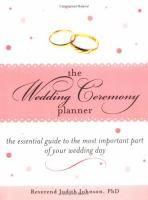 The Wedding Ceremony Planner