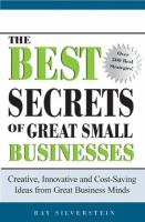 The Best Secrets of Great Small Businesses