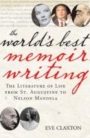 The World's Best Memoir Writing