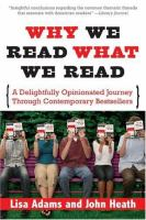 Why We Read What We Read