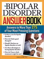The Bipolar Disorder Answer Book