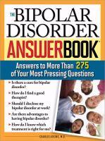 The Bipolar Disorder Answer Book