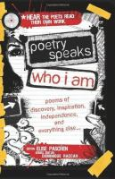 Poetry Speaks: Who I Am