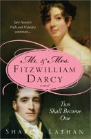 Mr. and Mrs. Fitzwilliam Darcy