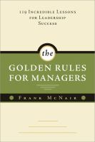The Golden Rules for Managers