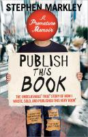 Publish This Book