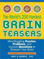 The World's 200 Hardest Brain Teasers
