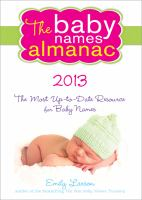 The Baby Names Almanac 2012