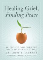 Healing Grief, Finding Peace