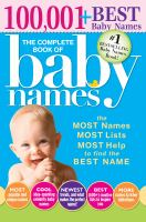 The Complete Book of Baby Names