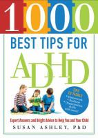 1,000 Best Tips for ADHD