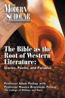 The Bible as the Root of Western Literature
