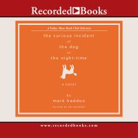 Book CD cover of the Curious Incident of the Dog in the Night-Time.
