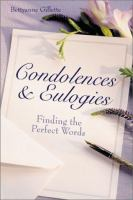 Condolences & Eulogies