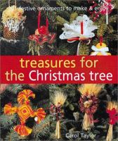 Treasures for the Christmas Tree