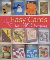 Easy Cards for All Occasions